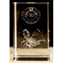 3D Kristall - Skorpion