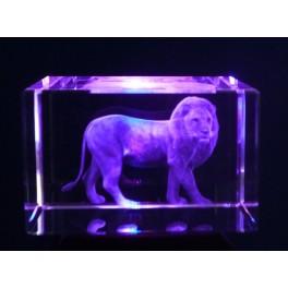 3D Kristall Motiv Löwe